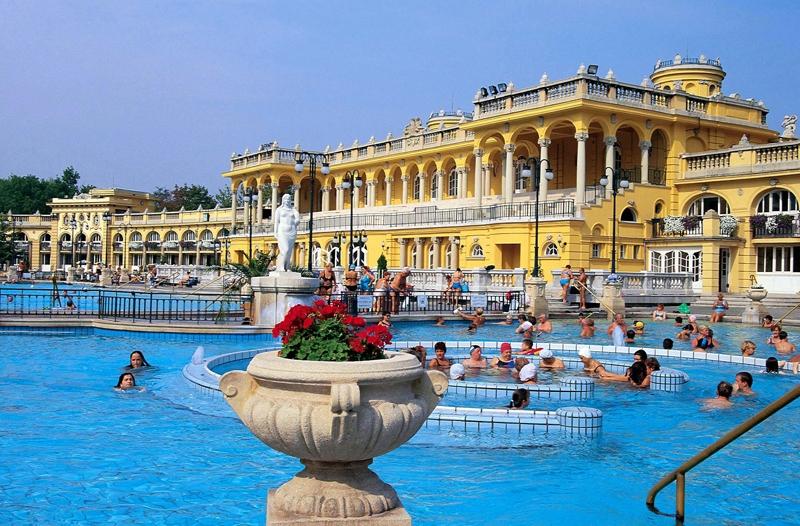 Testi-lelki felfrissülés a Széchenyi Gyógyfürdőben