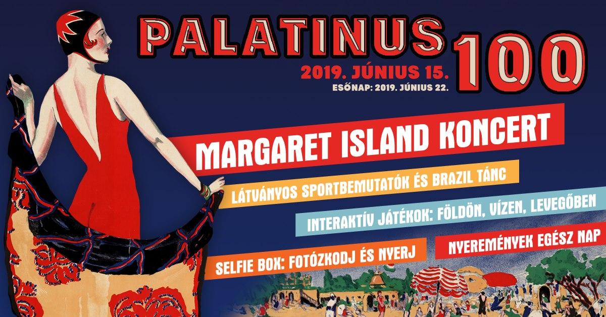 Pala100 Fesztivál a Palatinus Strandfürdőben 2019. június 22-én
