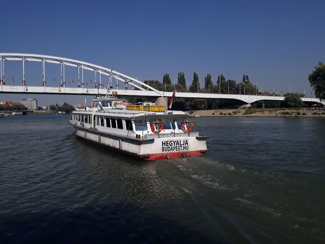 Szegedi hajókirándulás