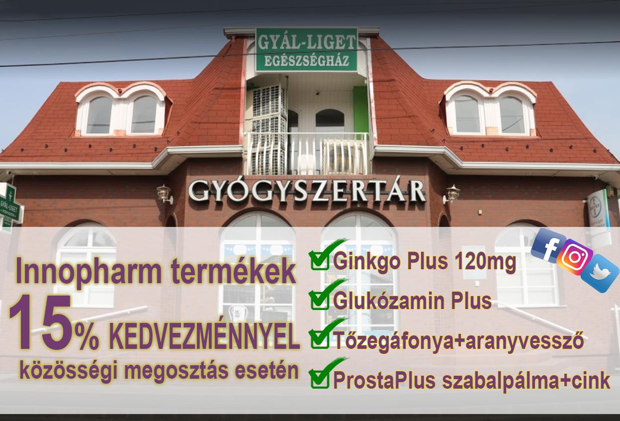 Gyál-liget Gyógyszertár...