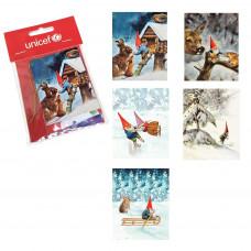 UNICEF Ajándék kártya készlet KIS TÉLI CSODAORSZÁG