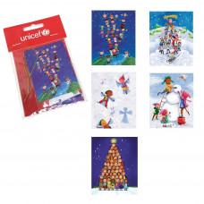 UNICEF Ajándék kártya készlet GYERMEKEK A VILÁGBÓL