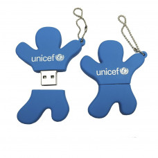 UNICEF Ajándék EMBER ALAKÚ PENDRIVE - 16 GB