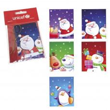 UNICEF Ajándék kártya készlet KARÁCSONY