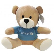 UNICEF Ajándék ÖLELNI VALÓ UNICEF MACKÓ (30 CM)