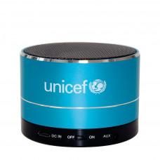 UNICEF Ajándék UNICEF VEZETÉK NÉLKÜLI HANGSZÓRÓ (Fekete-Kék)