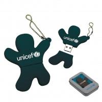 UNICEF Ajándék EMBER ALAKÚ PENDRIVE - 32 GB